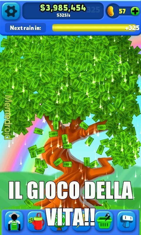 Albero di soldi - meme