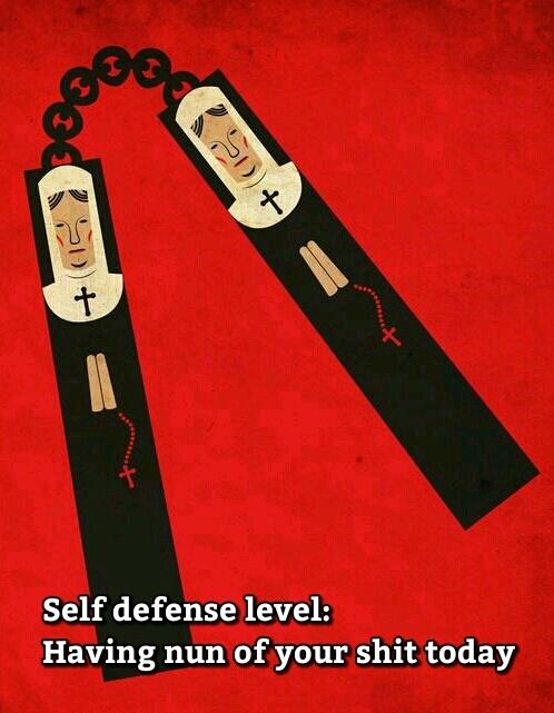 I find your lack of nun-puns disturbing Memedriod.
