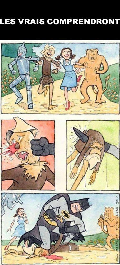 Hahahahaha je crois que tu t est trompé de cible Batman - meme