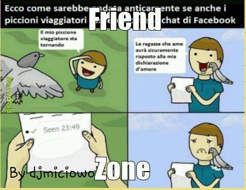 Friend zone forever - meme