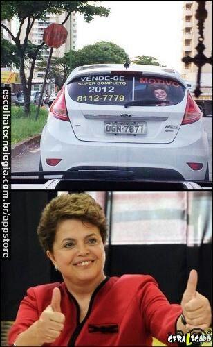 e Dilma véia - meme