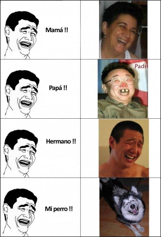 La familia de Yao Ming - meme