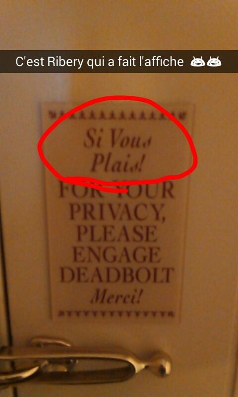 MDR dans mon hôtel  - meme