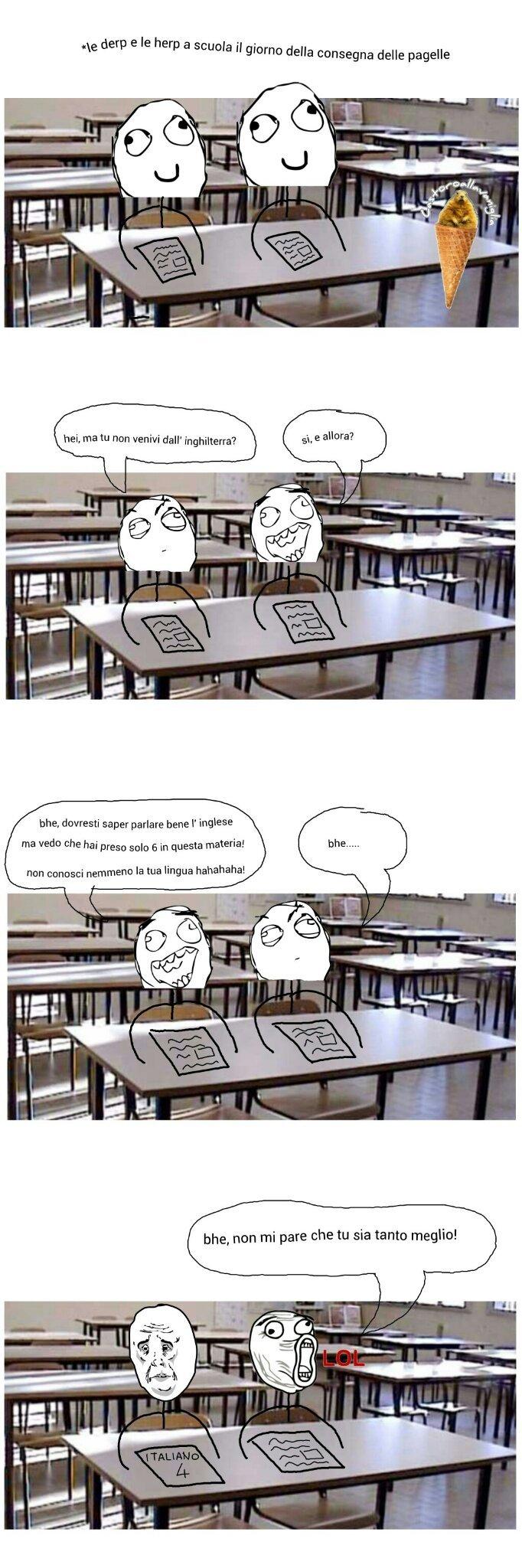 Guardate il foglio a destra nell' ultima vignetta! - meme