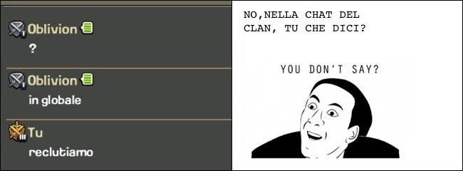 solo nel mio clan capitano queste cose :( cito gb13 - meme