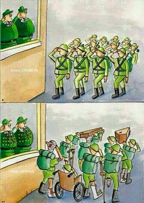 Soldier side - meme
