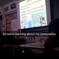 English class today