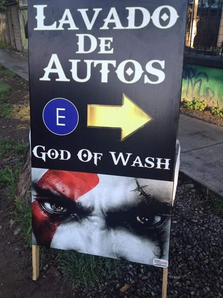 God of Wash... - meme
