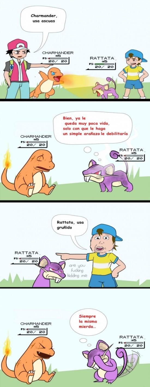 Si no has ganados peleas por esta razon nunca jugaste pokemon - meme