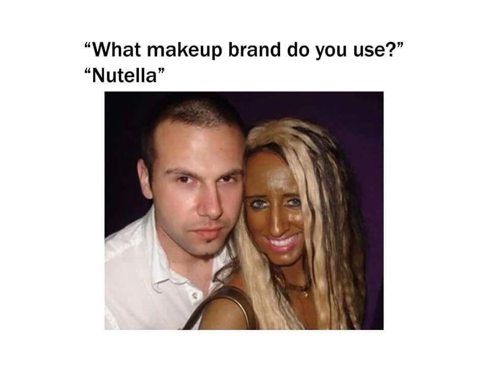 Gotta love that Nutella - meme