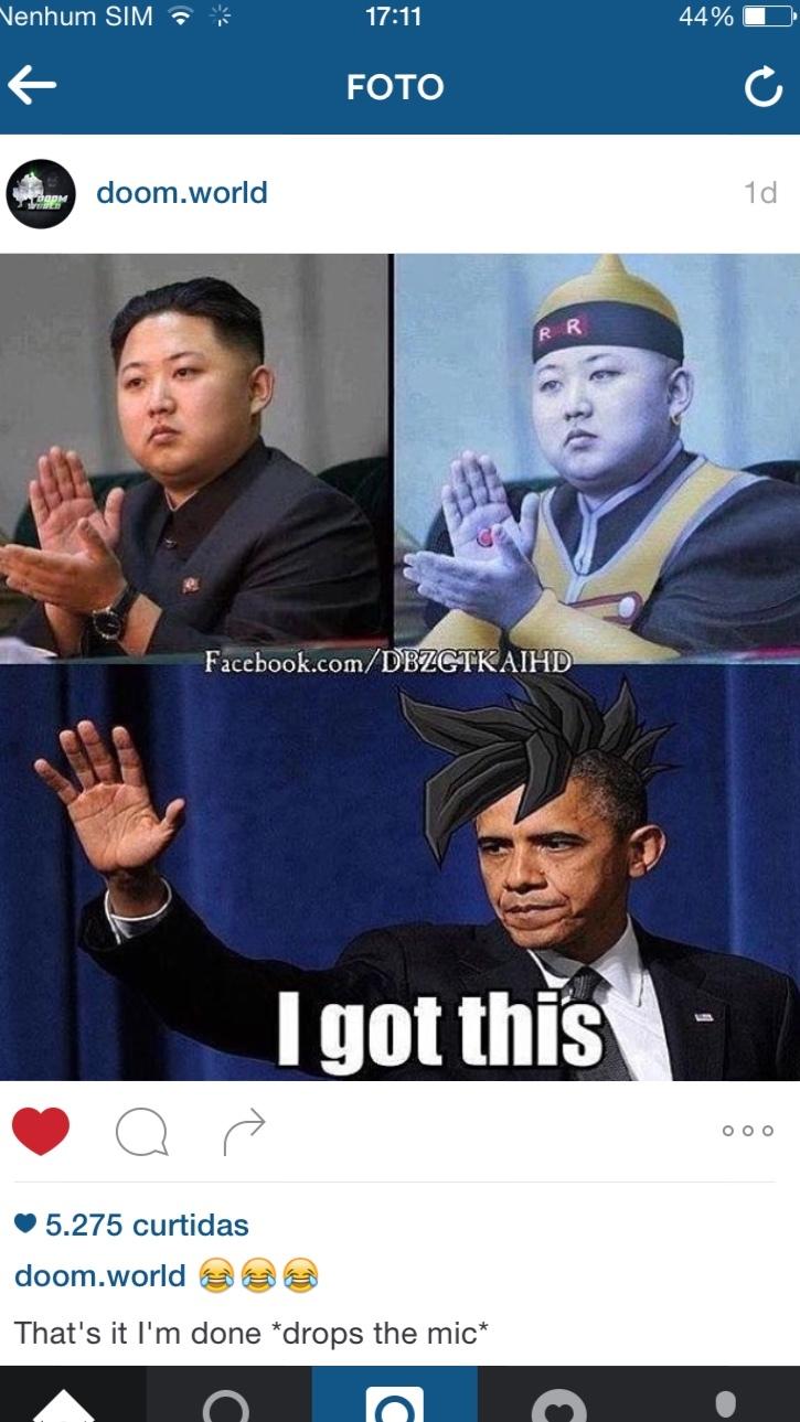 Goku Obama - meme