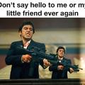 don't say hello