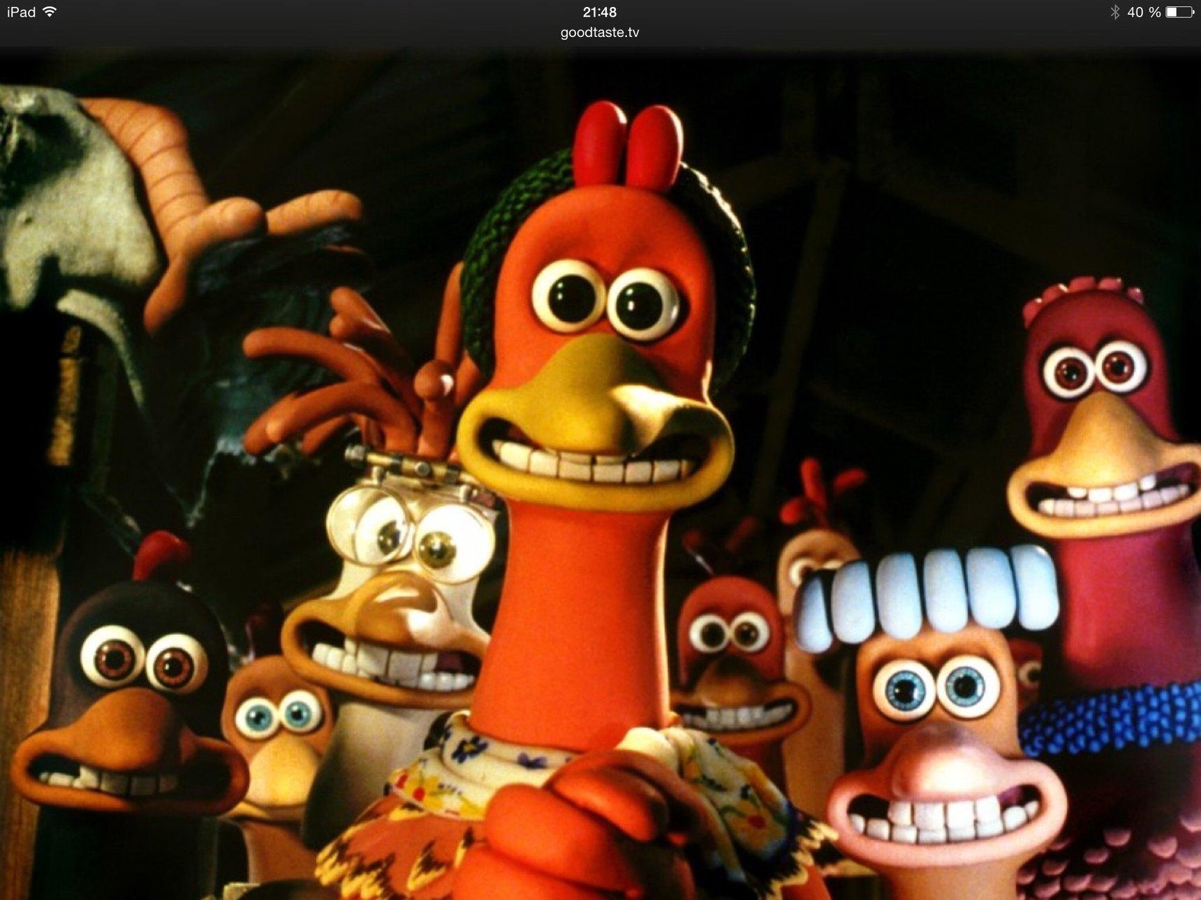 Si tu reconnais cette poule , alors tu a eu une bonne enfance - meme