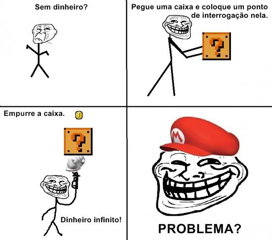 Mario rico - meme