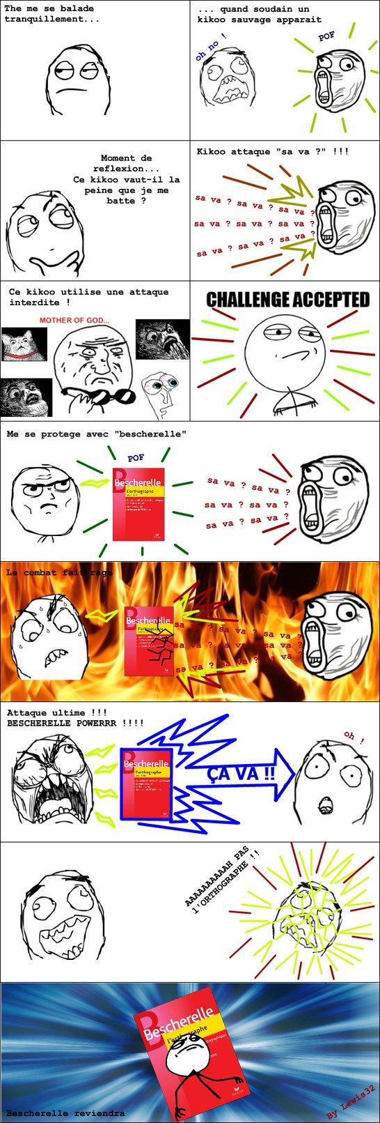 Bescherelle power ^^ - meme