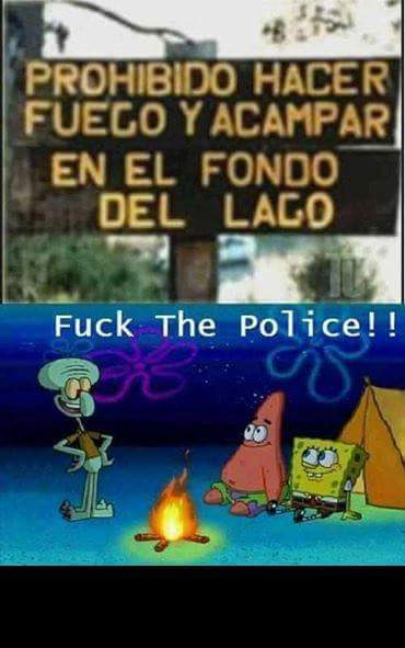 Jaja fuck the police - meme