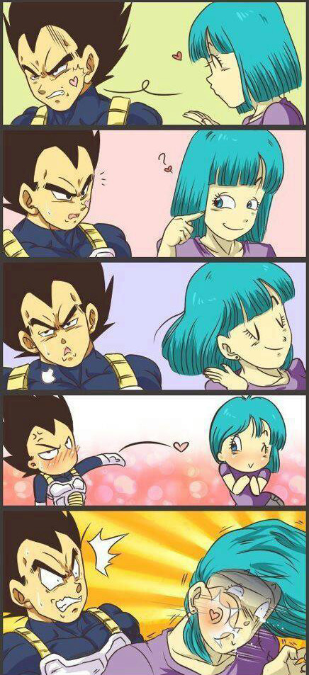 "Vegeta used ""Final Kiss"" - meme"