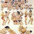 Musculos grandes, pequeno .....