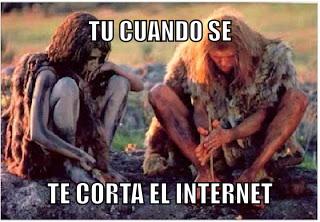 Sin internet , sin vida - meme