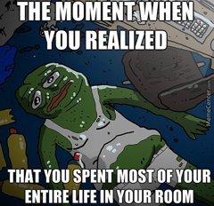 I am already lost one, so i dont need help. - meme