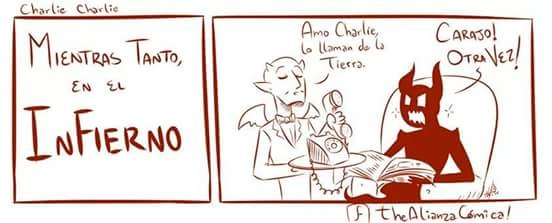 Charlie Charlie… - meme