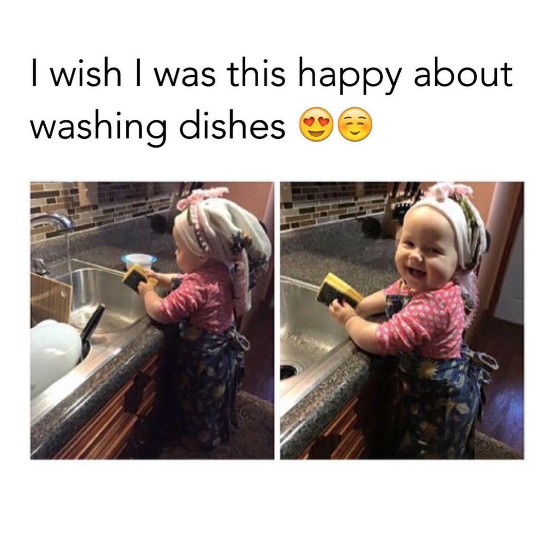 I really wish i was that happy - meme