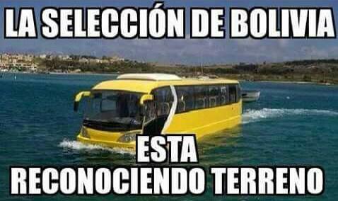 Jajaja bolivia jugó en valparaiso.... Eso es bulling - meme