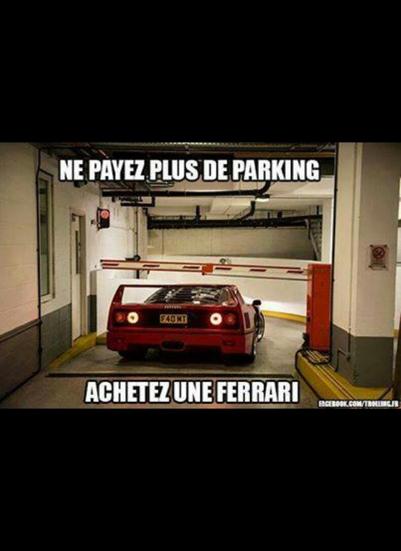 Fuck parking - meme