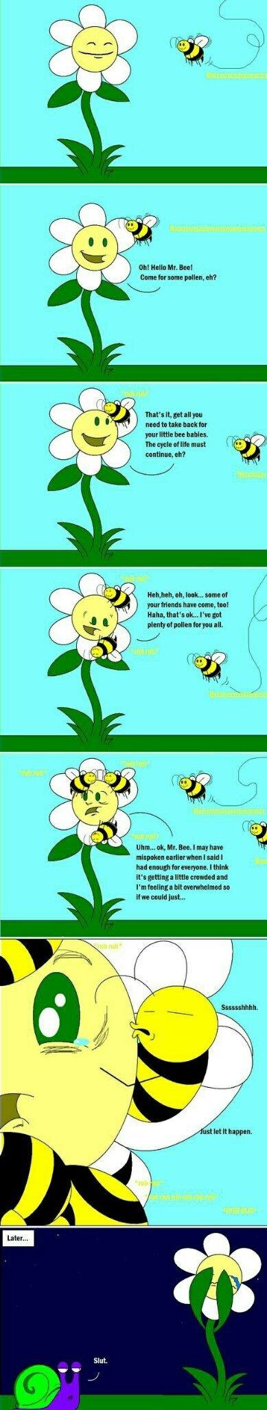 You take that pollen... - meme