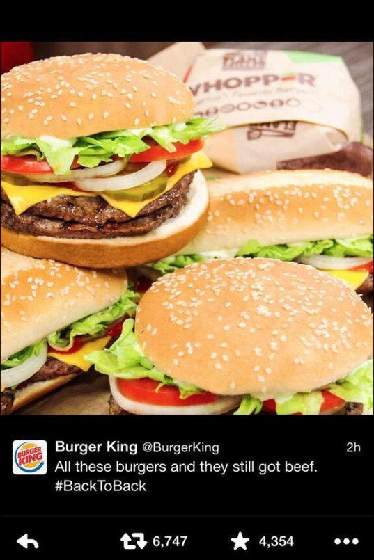 Burger King savage Af - meme