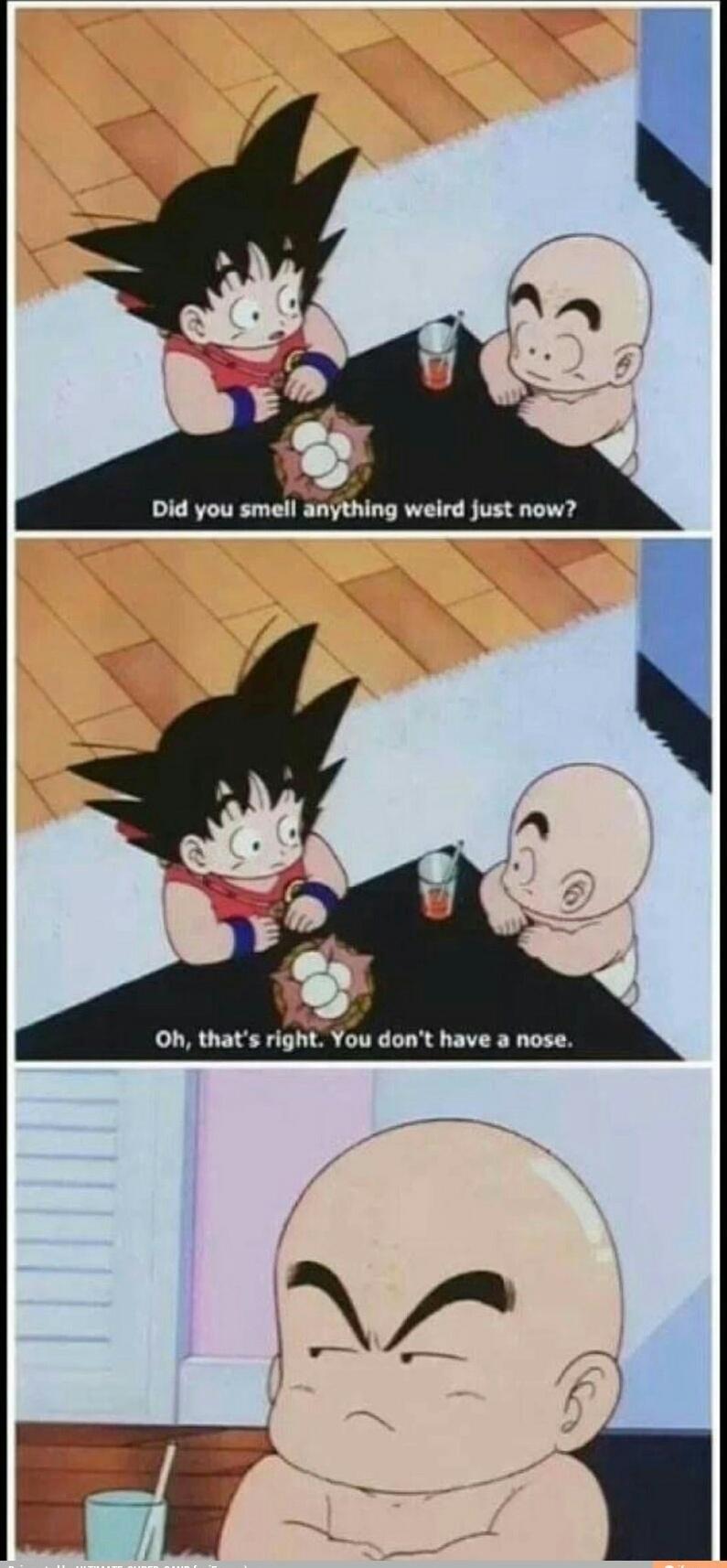Goku why,my feelings - meme