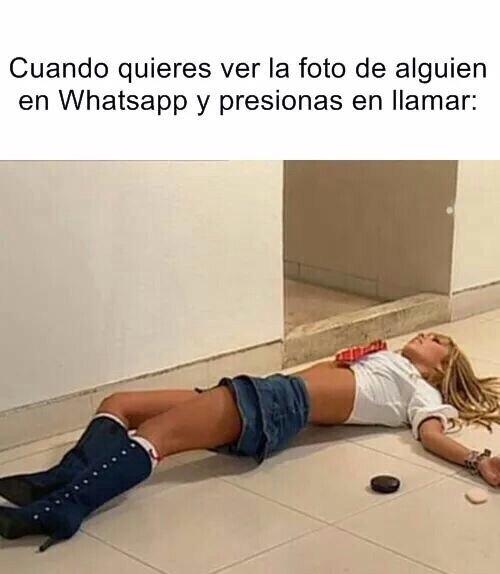 Maldito Whatsapp. - meme