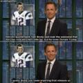 Seth Meyers everyone...