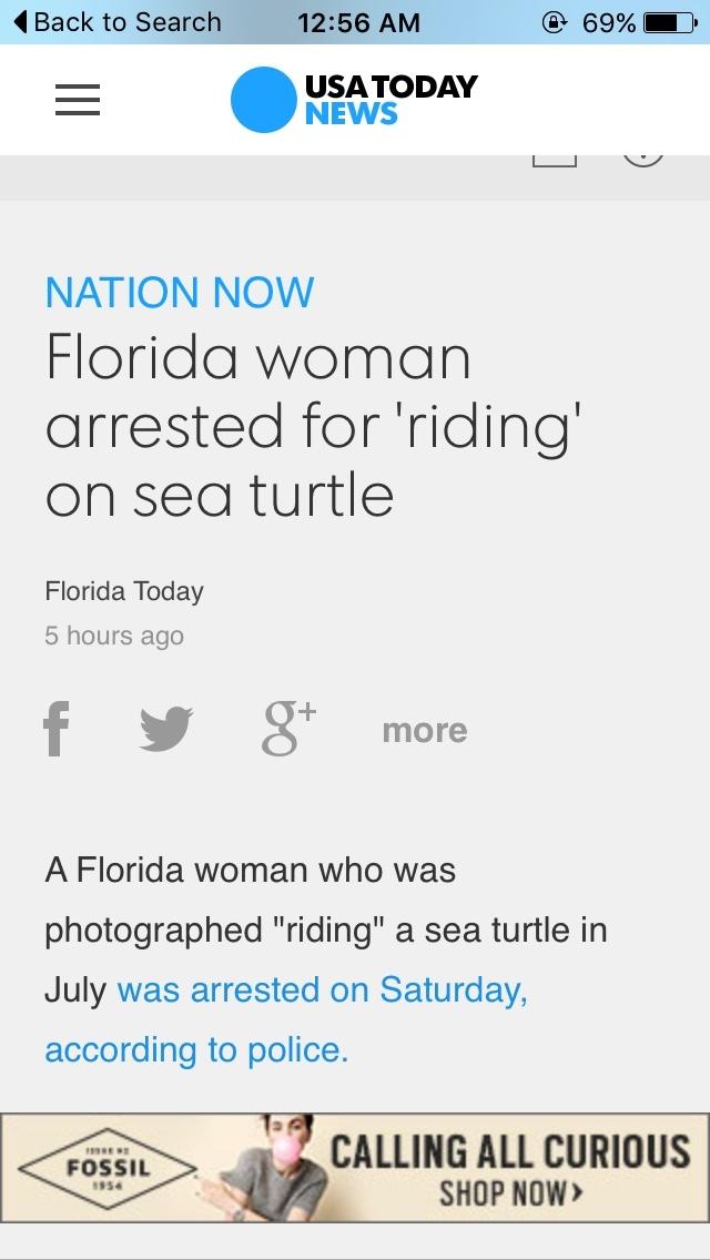 Florida woman - meme