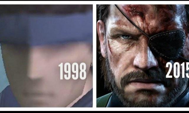 Metal Gear Solid au fil du temps - meme