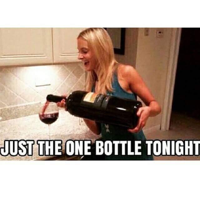 Just one bottle - meme