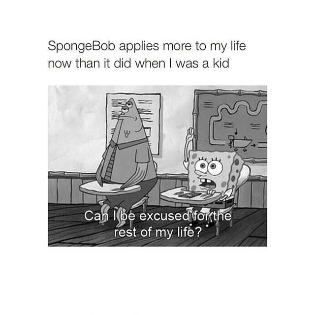 Yes spongebob you can - meme