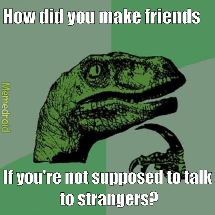 what are friends then? - meme