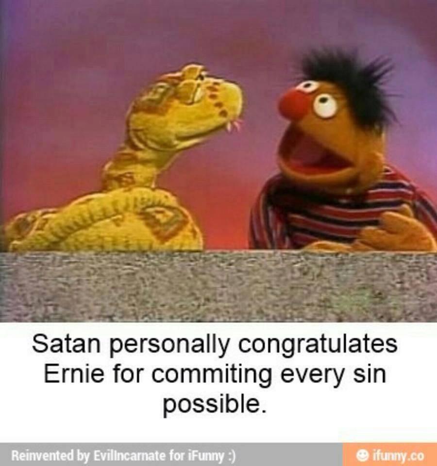 Bert nu - meme