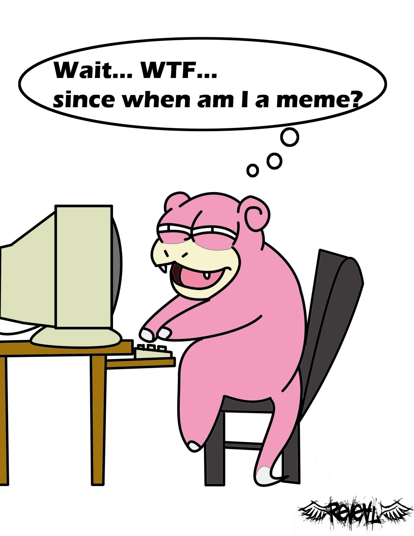 Slowpoke - meme