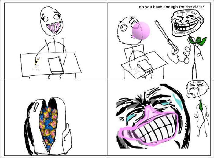 Bubble gum - meme