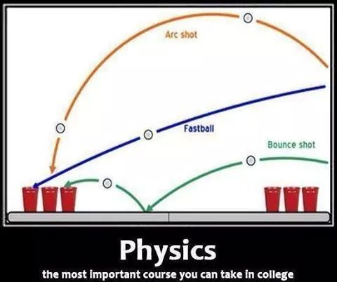 Learn physics my friends - meme