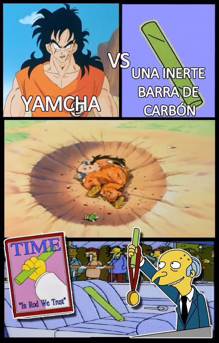 Es yamcha...( ͡° ͜ʖ ͡°) - meme