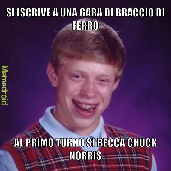 Chuck Norris si a iron - meme