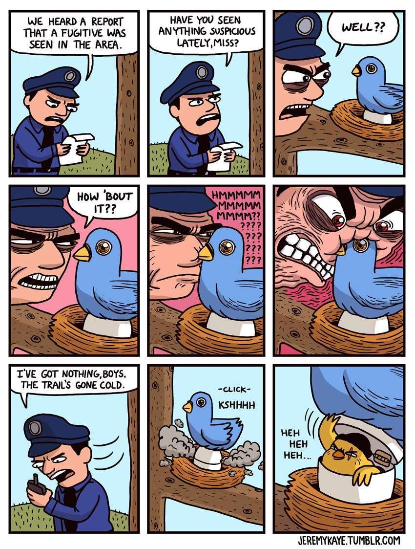 a clever criminal - meme