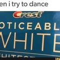 to white