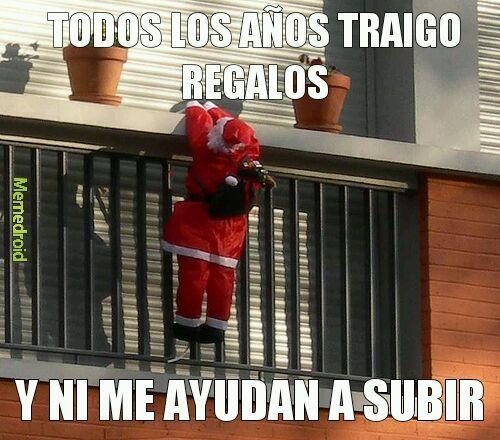Papito Noel pls - meme