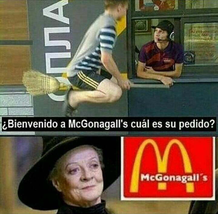 McGonagall's - meme