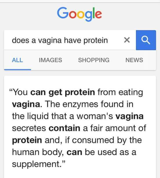 daily source of protein - meme