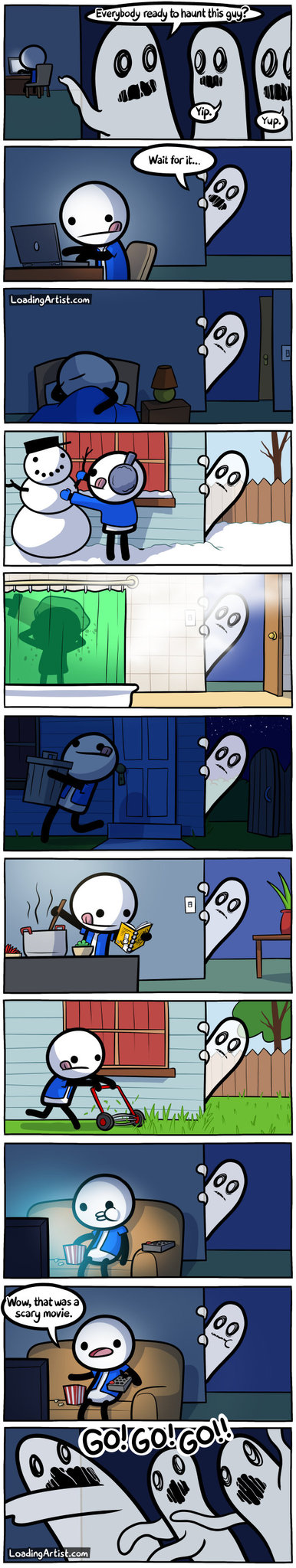 Ghosts are such cunts - meme